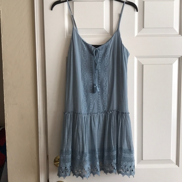 Nordstrom Dresses & Skirts - Light Blue Casual Dress NEVER WORN